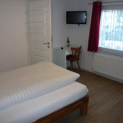 Zweites Zimmer des Familienzimmers (Einzelbett - Zustellbett möglich)
